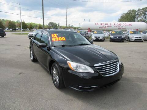 2012 Chrysler 200 for sale at Auto Bella Inc. in Clayton NC