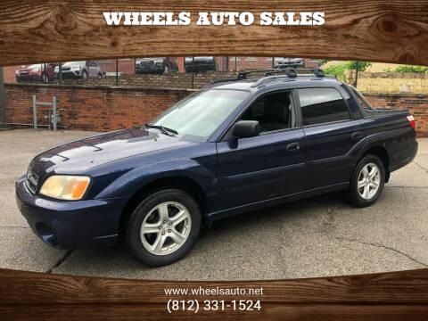 2005 Subaru Baja for sale at Wheels Auto Sales in Bloomington IN
