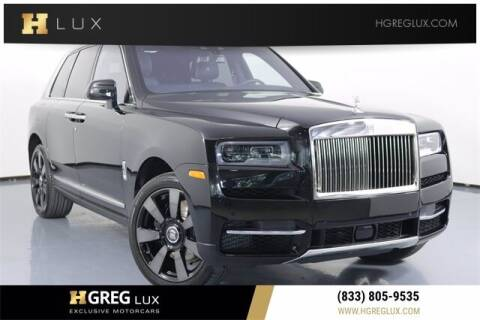 2021 Rolls-Royce Cullinan for sale at HGREG LUX EXCLUSIVE MOTORCARS in Pompano Beach FL