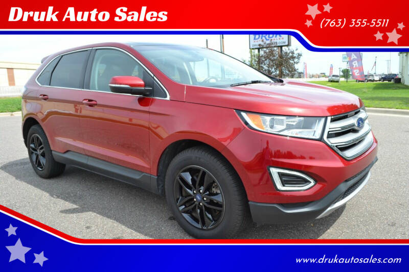 2017 Ford Edge for sale at Druk Auto Sales in Ramsey MN