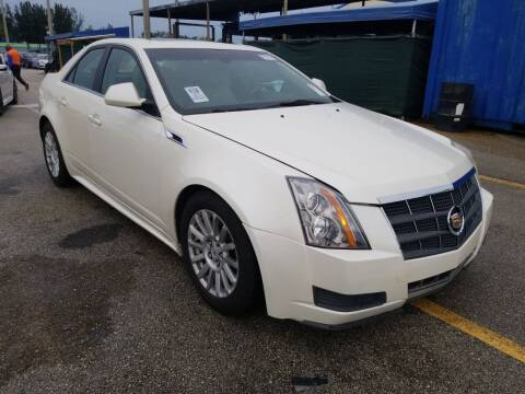 2012 Cadillac CTS for sale at M.D.V. INTERNATIONAL AUTO CORP in Fort Lauderdale FL
