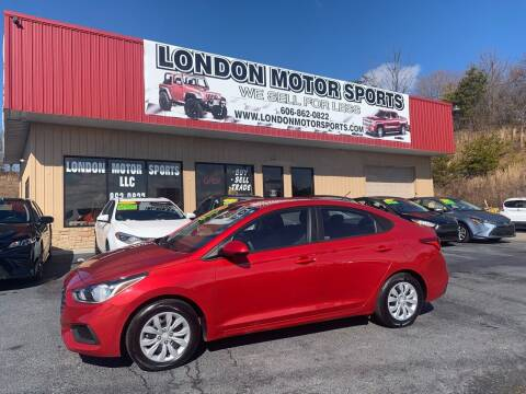 2020 Hyundai Accent for sale at London Motor Sports, LLC in London KY