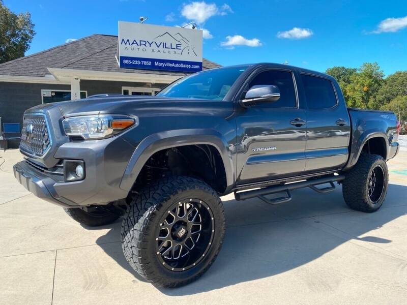 2018 Toyota Tacoma for sale at Maryville Auto Sales in Maryville TN