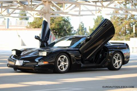 2001 Chevrolet Corvette for sale at Euro Auto Sales in Santa Clara CA