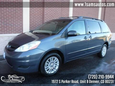 2009 Toyota Sienna for sale at SAM'S AUTOMOTIVE in Denver CO