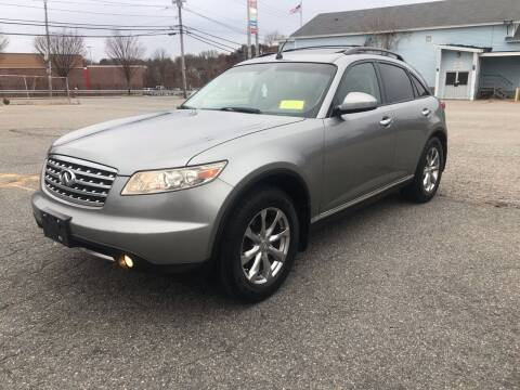 2008 Infiniti FX35 for sale at D'Ambroise Auto Sales in Lowell MA