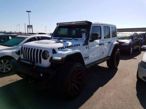 2019 Jeep Wrangler Unlimited for sale at CARZLOT in Portsmouth VA