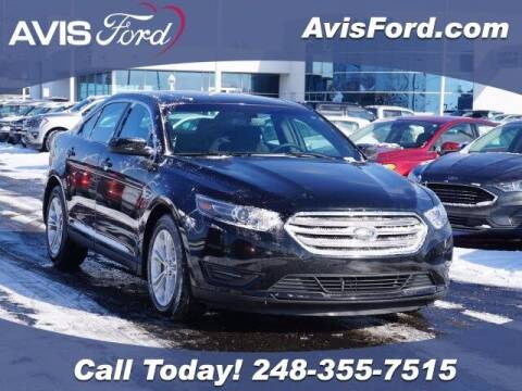 2018 Ford Taurus for sale at Work With Me Dave in Southfield MI