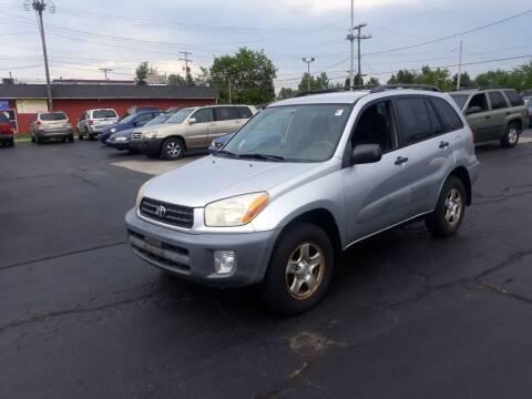2001 Toyota RAV4 for sale at Flag Motors in Columbus OH