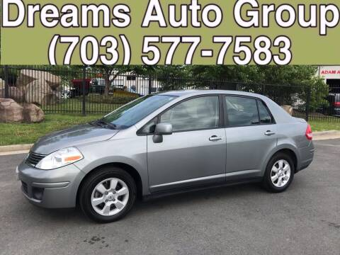 2009 Nissan Versa for sale at Dreams Auto Group LLC in Sterling VA