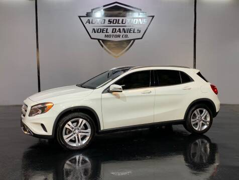 2017 Mercedes-Benz GLA for sale at Noel Daniels Motor Company in Ridgeland MS