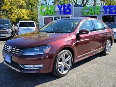 2012 Volkswagen Passat for sale at Car Yes Auto Sales in Baltimore MD