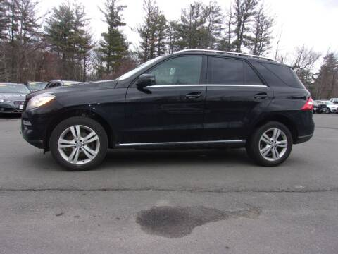 2015 Mercedes-Benz M-Class for sale at Mark's Discount Truck & Auto Sales in Londonderry NH