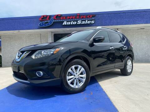 2014 Nissan Rogue for sale at El Camino Auto Sales Gainesville in Gainesville GA