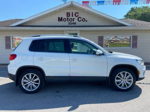 2016 Volkswagen Tiguan for sale at Bic Motors in Jackson MO