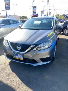 2018 Nissan Sentra for sale at LA PLAYITA AUTO SALES INC - 3271 E. Firestone Blvd Lot in South Gate CA