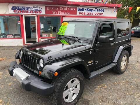 2008 Jeep Wrangler for sale at Best Cars R Us in Plainfield NJ