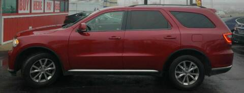 2015 Dodge Durango for sale at Rayyan Auto Sales LLC in Lexington KY
