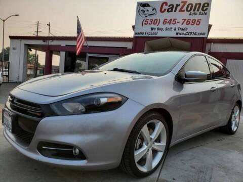 2014 Dodge Dart for sale at CarZone in Marysville CA