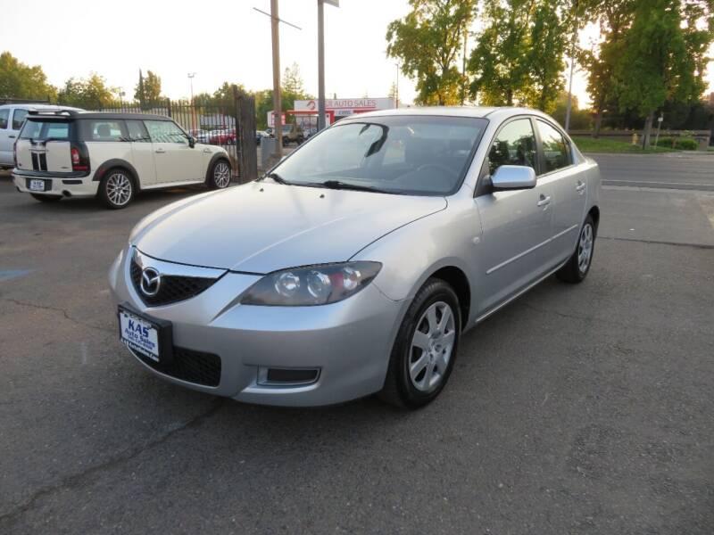 2009 Mazda MAZDA3 for sale at KAS Auto Sales in Sacramento CA