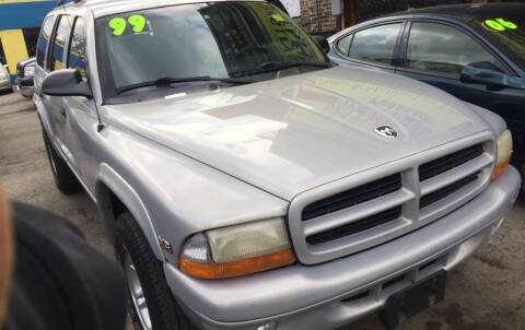 1999 Dodge Durango for sale at HW Used Car Sales LTD in Chicago IL