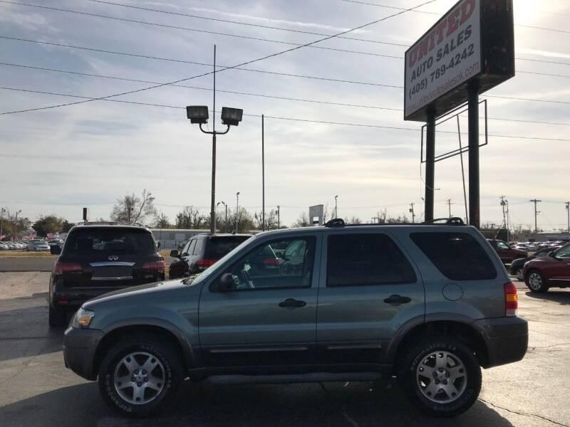 2005 Ford Escape for sale at United Auto Sales in Oklahoma City OK