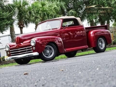 1948 Ford F1 for sale at SURVIVOR CLASSIC CAR SERVICES in Palmetto FL