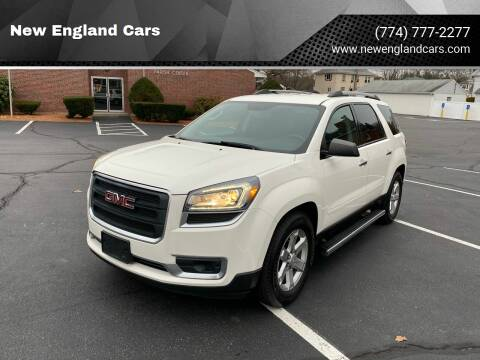 2014 GMC Acadia for sale at New England Cars in Attleboro MA