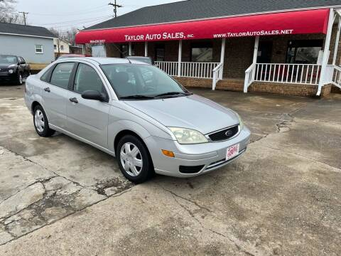 2006 Ford Focus for sale at Taylor Auto Sales Inc in Lyman SC
