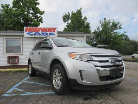 2011 Ford Edge for sale at Midway Cars LLC in Indianapolis IN