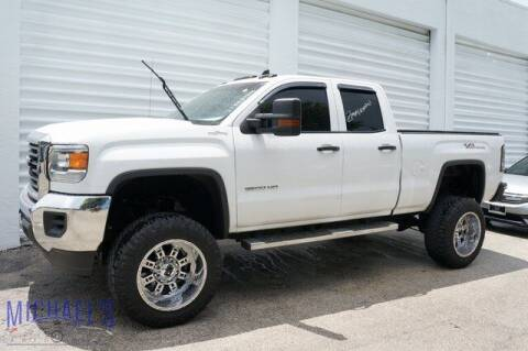2016 GMC Sierra 2500HD for sale at Michael's Auto Sales Corp in Hollywood FL