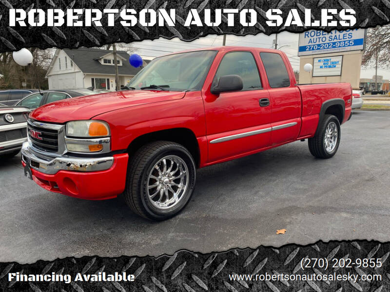 2003 GMC Sierra 1500 for sale at ROBERTSON AUTO SALES in Bowling Green KY