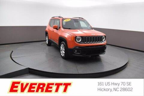 2018 Jeep Renegade for sale at Everett Chevrolet Buick GMC in Hickory NC