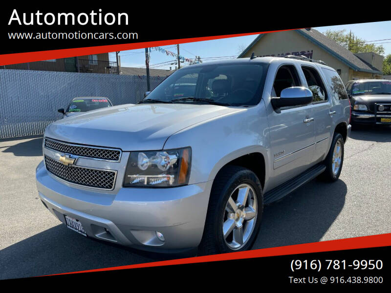 2011 Chevrolet Tahoe for sale at Automotion in Roseville CA