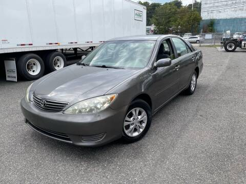 2005 Toyota Camry for sale at Giordano Auto Sales in Hasbrouck Heights NJ