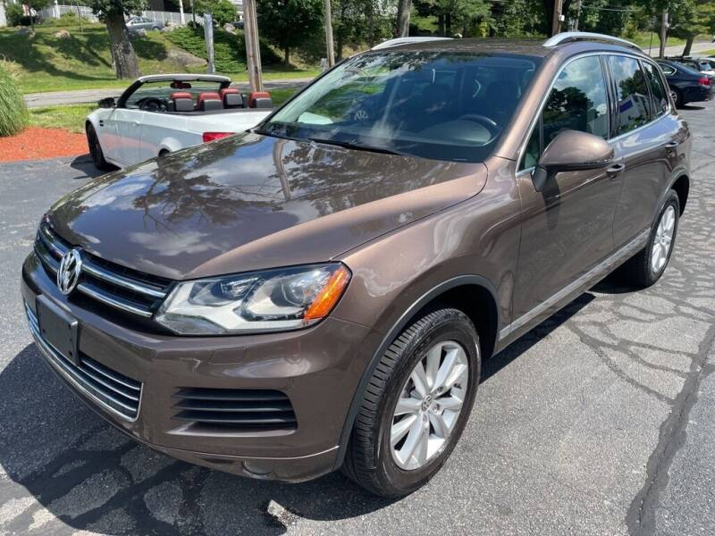 2013 Volkswagen Touareg for sale at Premier Automart in Milford MA