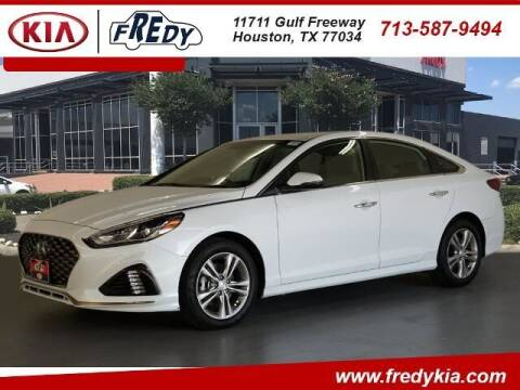 2019 Hyundai Sonata for sale at FREDY KIA USED CARS in Houston TX