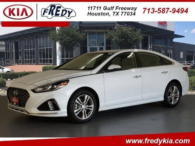 2019 Hyundai Sonata for sale at FREDY KIA USED CARS in Houston TX