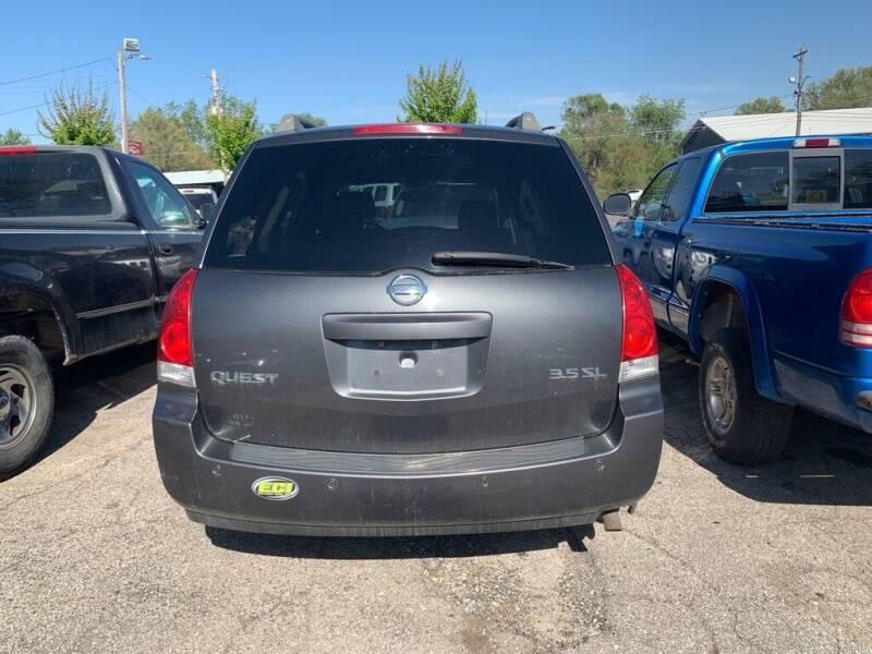 2005 Nissan Quest for sale at ALVAREZ AUTO SALES in Des Moines IA