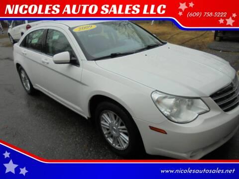 2009 Chrysler Sebring for sale at NICOLES AUTO SALES LLC in Cream Ridge NJ