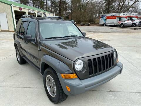 2005 Jeep Liberty for sale at C & C Auto Sales & Service Inc in Lyman SC