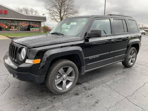 2015 Jeep Patriot for sale at Hawkins Motors Sales in Hillsdale MI