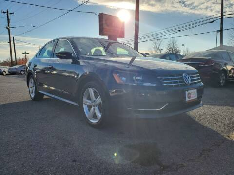 2012 Volkswagen Passat for sale at Cars 4 Grab in Winchester VA