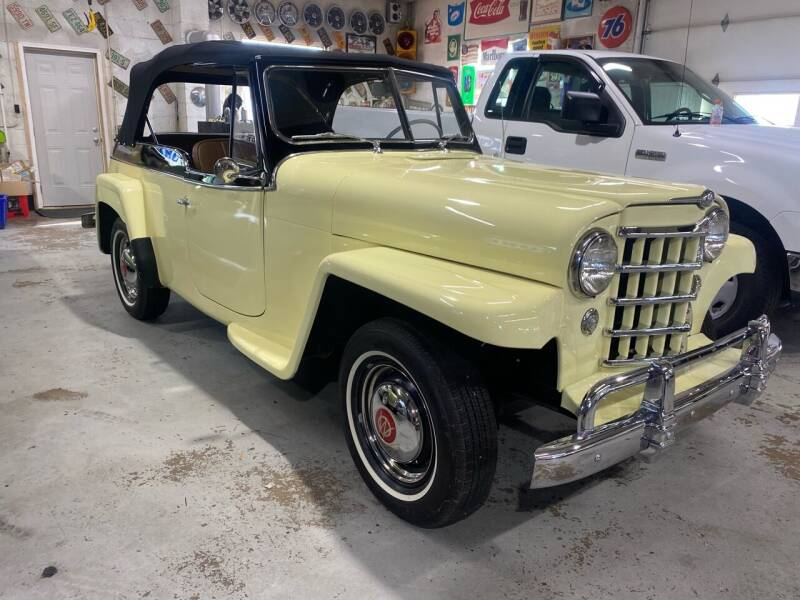 1950 Jeep Willys for sale at Drivers Auto Sales in Boonville NC