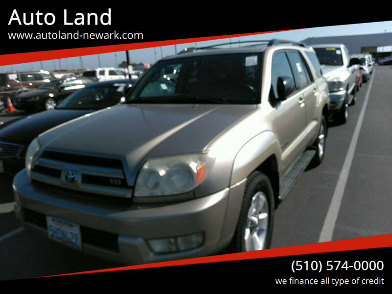 2004 Toyota 4Runner for sale at Auto Land in Newark CA