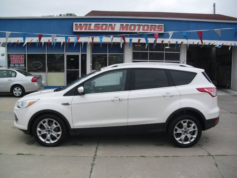2014 Ford Escape for sale at Wilson Motors in Junction City KS