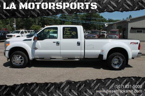 2013 Ford F-450 Super Duty for sale at LA MOTORSPORTS in Windom MN