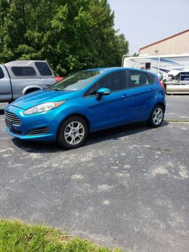 2015 Ford Fiesta for sale at AUTO LANE INC in Henrico NC
