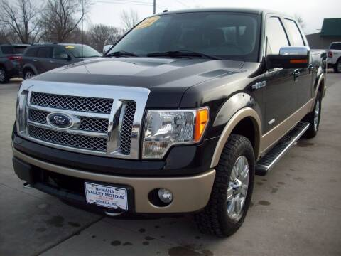 2012 Ford F-150 for sale at Nemaha Valley Motors in Seneca KS