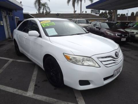 2010 Toyota Camry for sale at PACIFICO AUTO SALES in Santa Ana CA